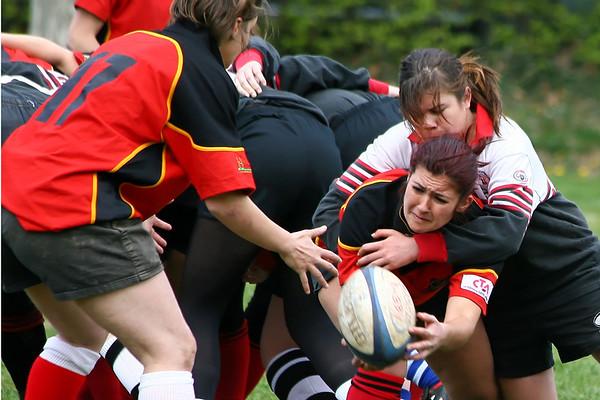 Sport Rugby NLA Frauen  RFC Basel Birds Saison 2007/2008