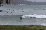 Sydney Harbour Surfing As an East Coast Low brought a grey wet and windy day to Sydney, surfers ventured inside Sydney Harbour with waves well inside the heads creating good opportunities.   ...