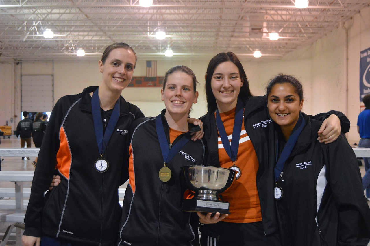 Grace Neveu, Megan Hoffman, Suraya Javeri, and Sonya Tkachman