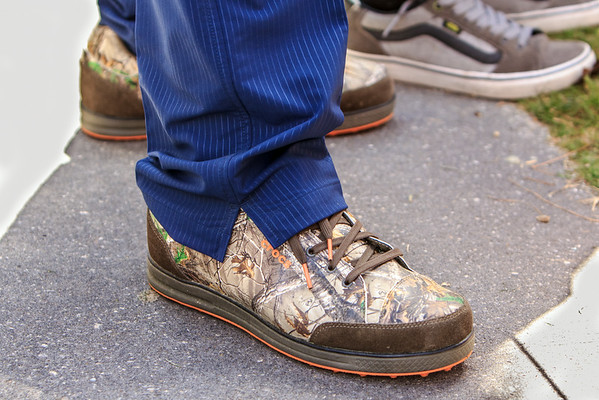 "Jep Robertson wins the ""Best Golf Shoes"" contest IMO"