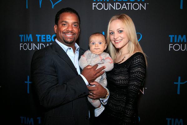 Alfonso Ribeiro & family