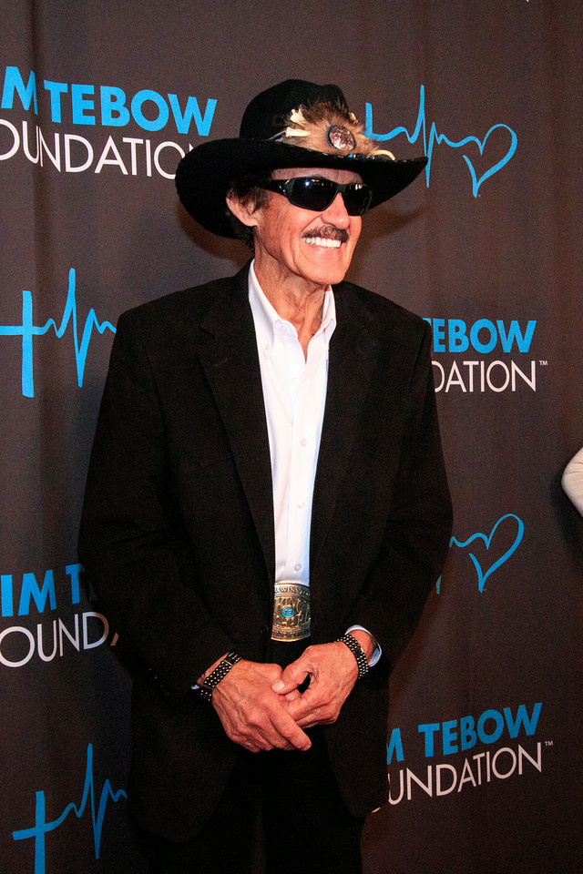 Richard Petty on the Red Carpet