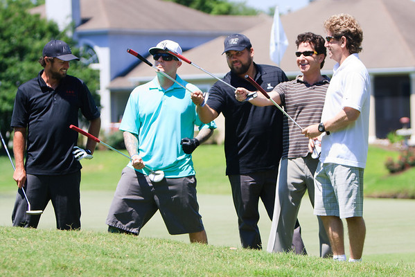 Fred Durst and his foursome