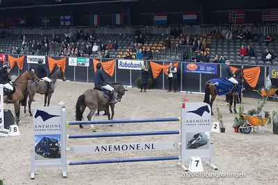 nederland 2020, zuidbroek, eurohal, 58e internationaal indoor concours hippique
