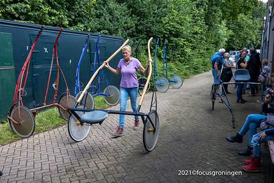 nederland 2021, groningen, concourslaan, laatste draverijen drafbaan stadspark