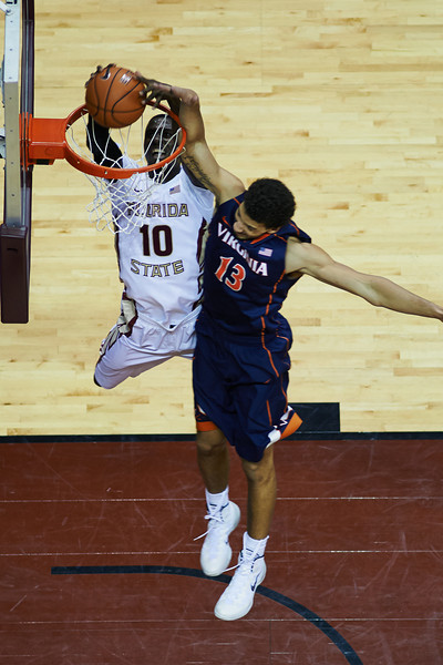 NCAA Basketball: FSU Basketball 50 University of Virginia 62