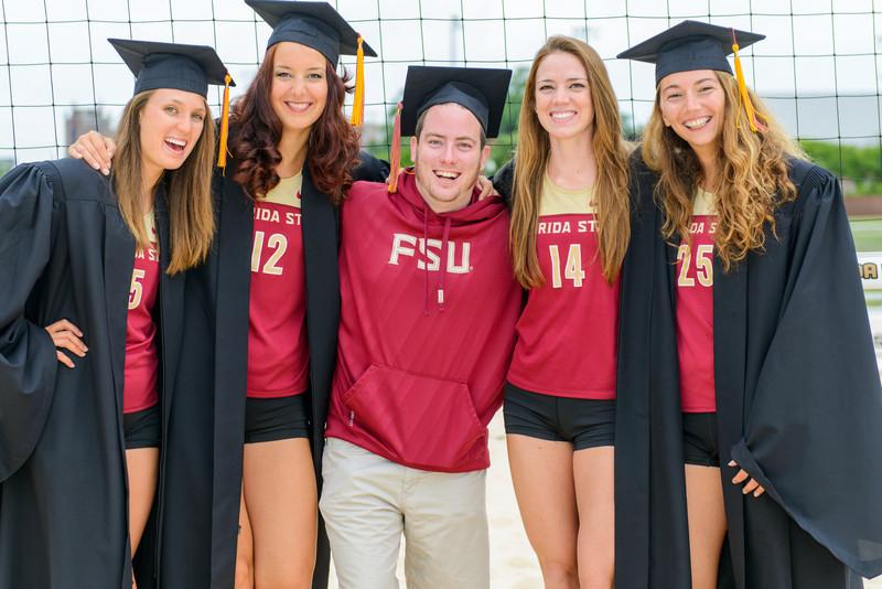 Florida State U Sand Volleyball Senior Photos 2013