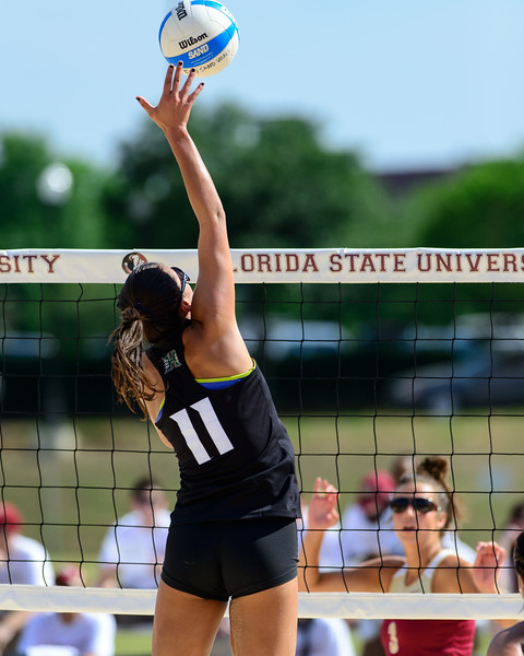 Florida State U Sand Volleyball v University of Hawaii