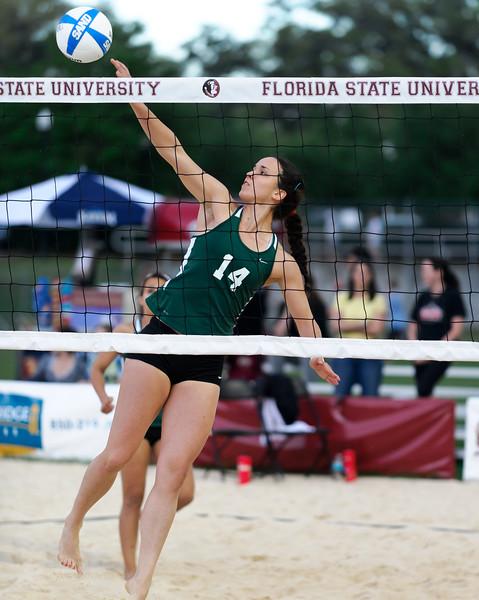 FSU Sand Volleyball v Tulane - March 2012