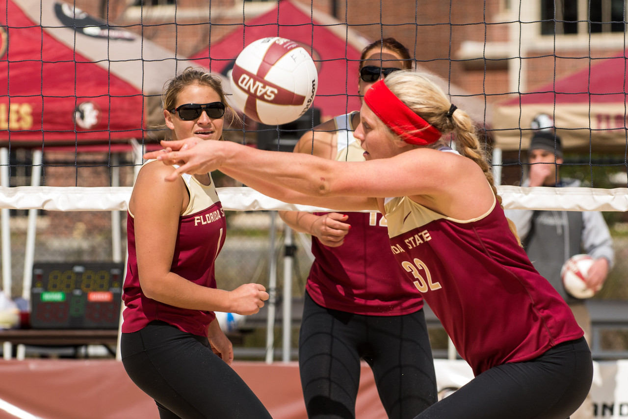 Florida State U Sand Volleyball Garnet & Gold Game 2013