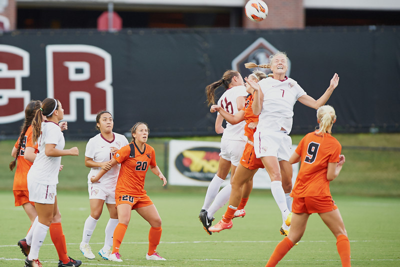 FSU Soccer 1 Oregon State.  0