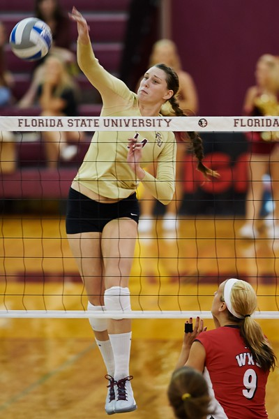 FSU Volleyball 3 Western Kentucky 1