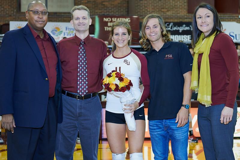 FSU Volleyball 3 Clemson 0