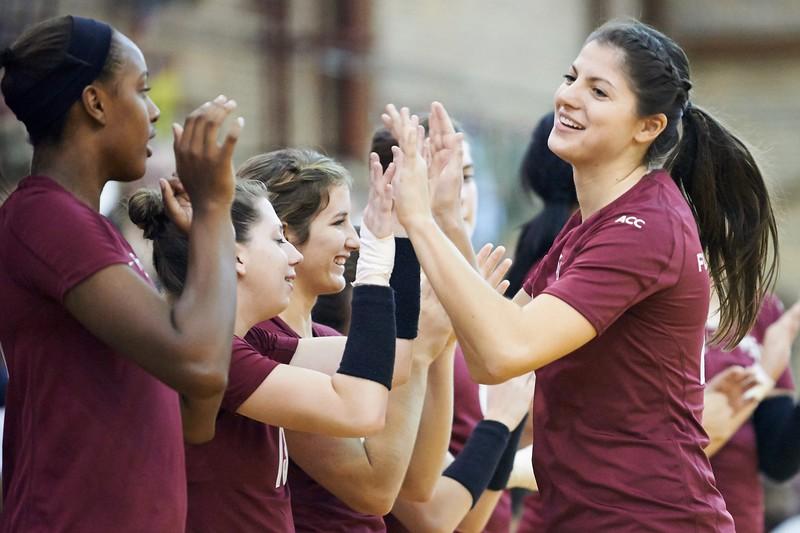 FSU Volleyball 3 Duke 0