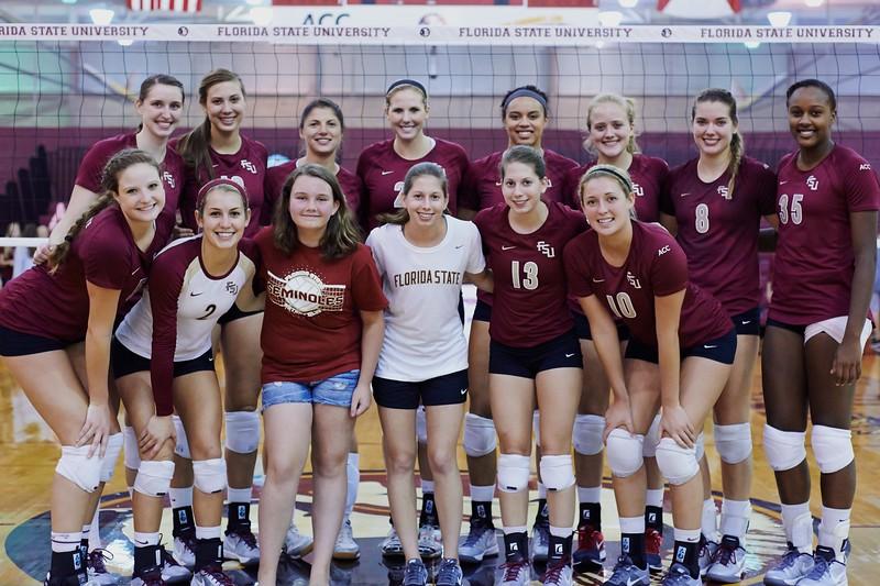 FSU Volleyball 3 FGCU 0