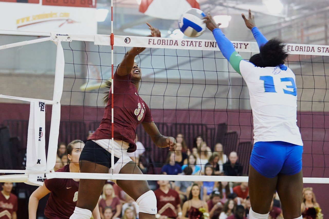 FSU Volleyball 3 FGCU 0