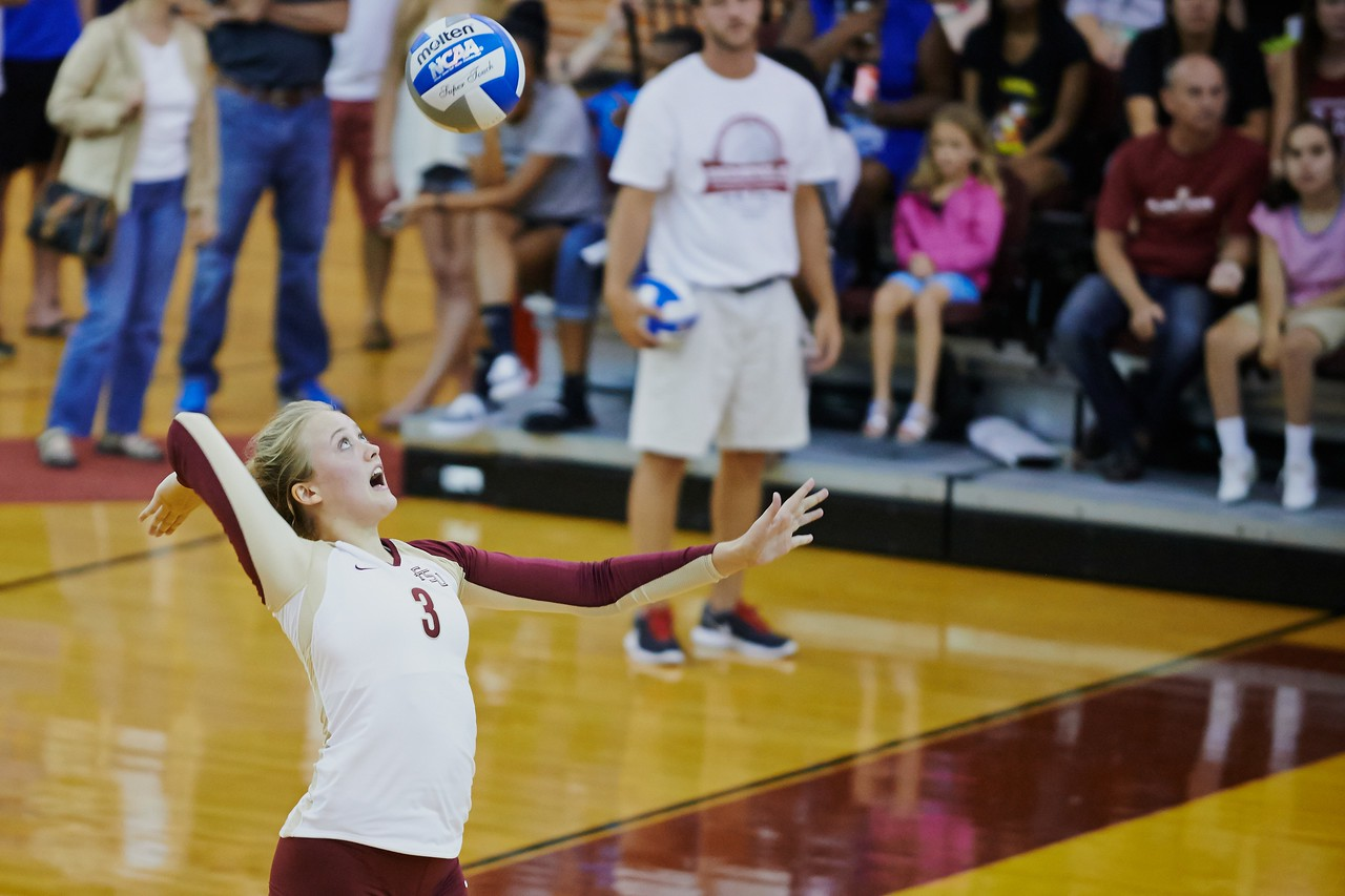 FSU Volleyball 1  Ohio State 3