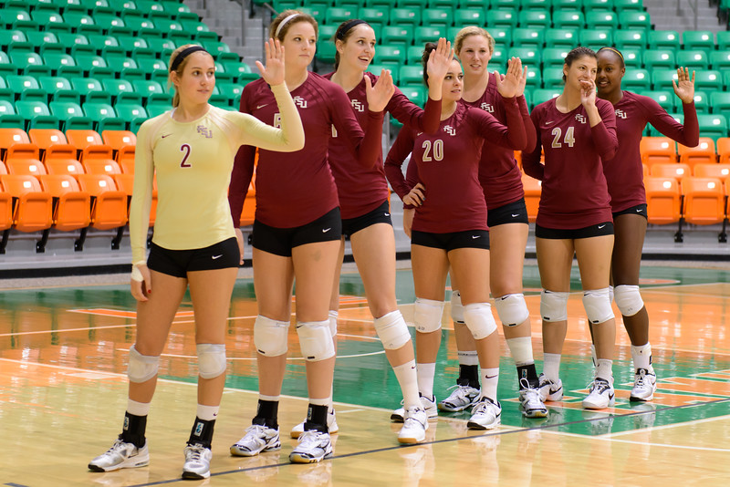 Florida State U Volleyball 2012