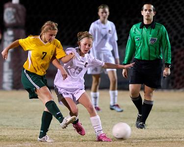 Soccer - Chiles v Lincoln Nov 2011