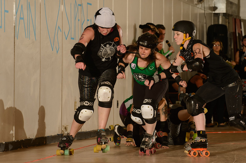 ROLLER DERBY!  Tallahassee Jailbreak Betties take on the Classic City Rollergirls