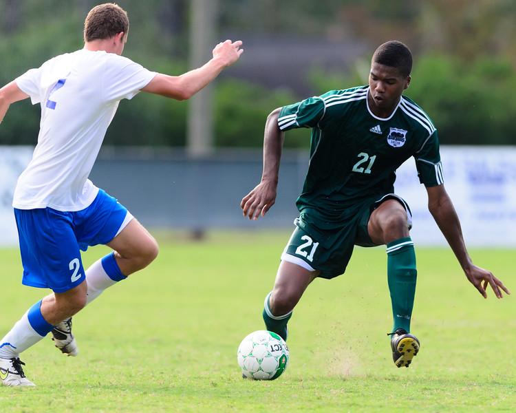 Thomas University Mens Soccer plays Shorter College 2011