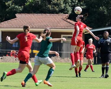 TU Soccer (W) Preseason Playday 2011