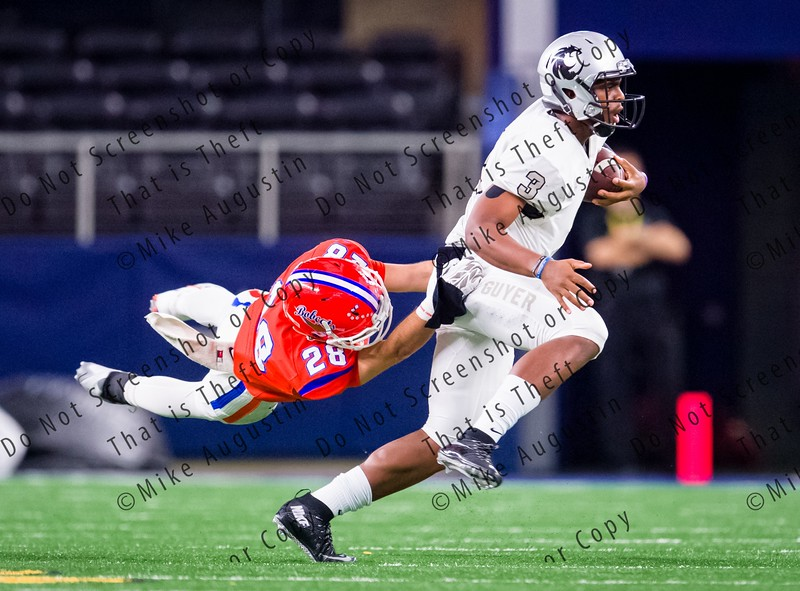 11.27.2015 San Angelo Central vs. Guyer (UIL 6A D2 Regional Playoff at AT&T Stadium)