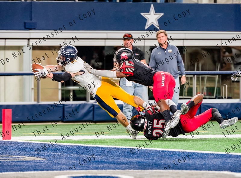 12.2.2016 Mansfield Legacy vs Highland Park (UIL 5A D1 State Quarter-Final at AT&T Stadium)