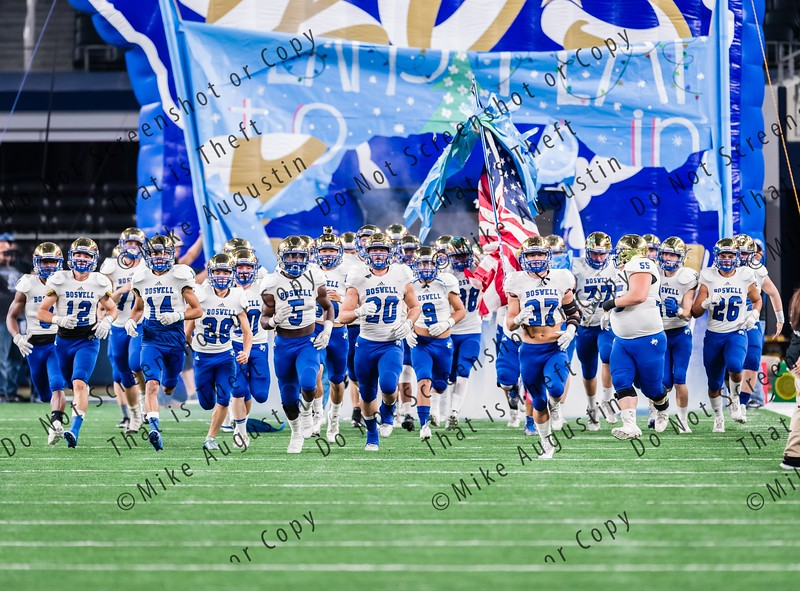 12.2.2016 Aledo vs Boswell (UIL 5A D2 State Quarterfinals at AT&T Stadium)