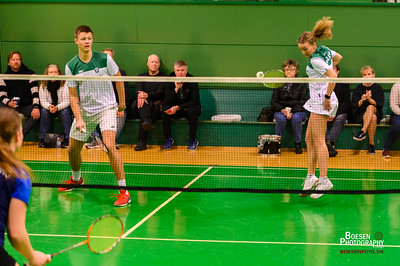 Badminton Hold: Lyngby 1 mod Odense OBK2 - 07.03.20