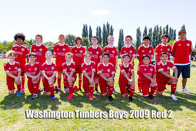2021-07-18 Washington Timbers Boys 2009 Red 2 Team Picture