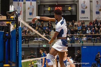 nederland 2020, groningen, lycurgus montpellier  achtste finales van de europese challenge cup
