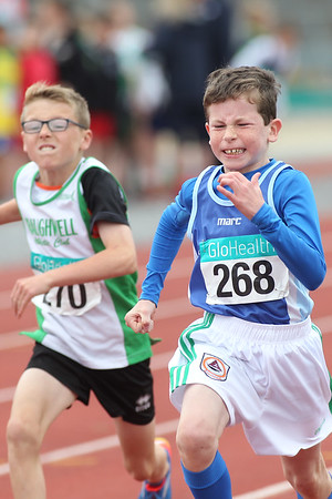 David Mannion (268 South Galwway AC) in the Boys U/11 60m