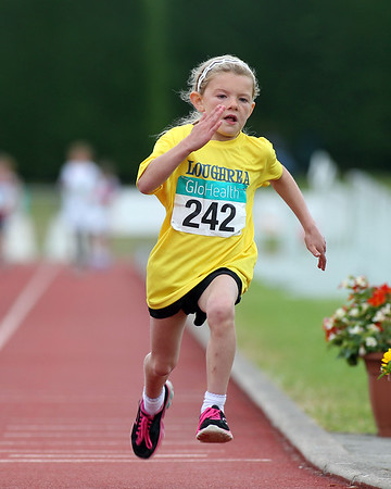 Olivia Sellars (Loughrea AC) in Girls U/9 60m sprint