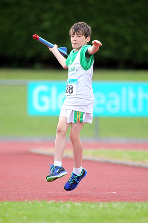 Anthony Slevin (Craughwell AC) Boys U/9Turbo javeline