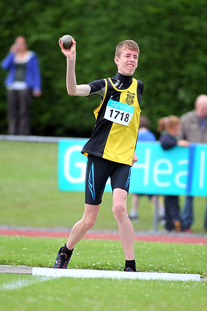 Rory MacGabhann (Kilkenny Harriers) in the Boys U/15 pentathlon