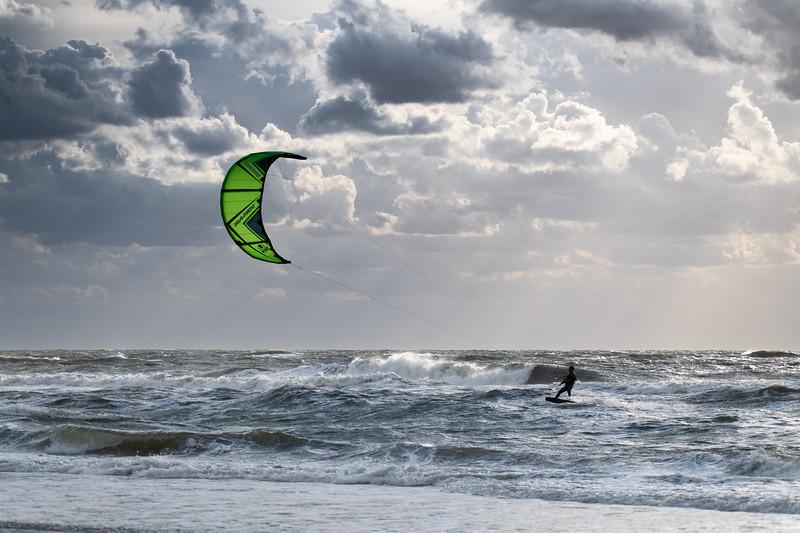 Sun in the kite