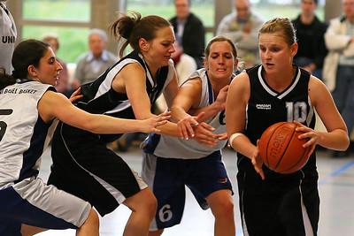 Sport Basketball Frauen 1.Liga National SC Uni Basel Basket Saison 2007/2008