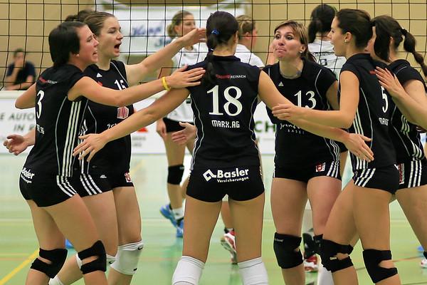 Sport Volleyball Damen NLA Sm'Aesch Pfeffingen Saison 2008/2009