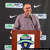 Phil Rawlins, President of Orlando City Soccer at 2013 USL PRO Championship Awards, Orlando, Florida - 6 September 2013  (Photographer: Nigel Worrall)