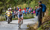 Rui Costa up Mount Fløyen up Mount Fløyen in The Cycling Road World Championships Men Elite Individual Time Trial 20/9-2017.
