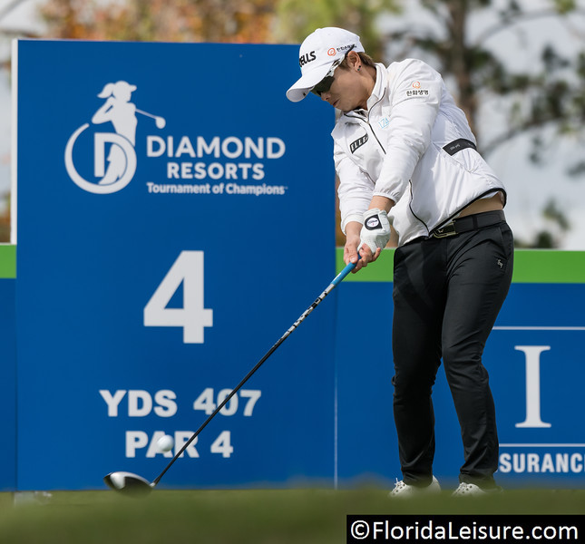 Eun-Hee Ji at 2019 Diamond Resorts Tournament of Champions, Tranquilo Golf Course, Lake Buena Vista, Florida - 17-20 January 2019 (Photographer: Nigel G Worrall)