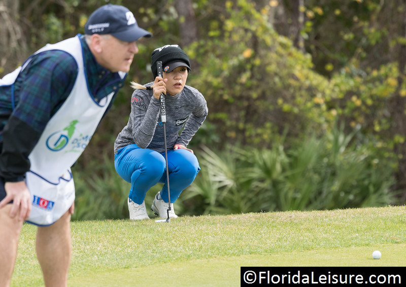 Lydia Ko at 2019 Diamond Resorts Tournament of Champions, Tranquilo Golf Course, Lake Buena Vista, Florida - 17-20 January 2019 (Photographer: Nigel G Worrall)
