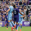 Orlando City Soccer vs New York City FC, Lamar Hunt US Open Cup, Exploria Stadium, Orlando, Florida - 10th July 2019 (Photographer: Nigel G Worrall)