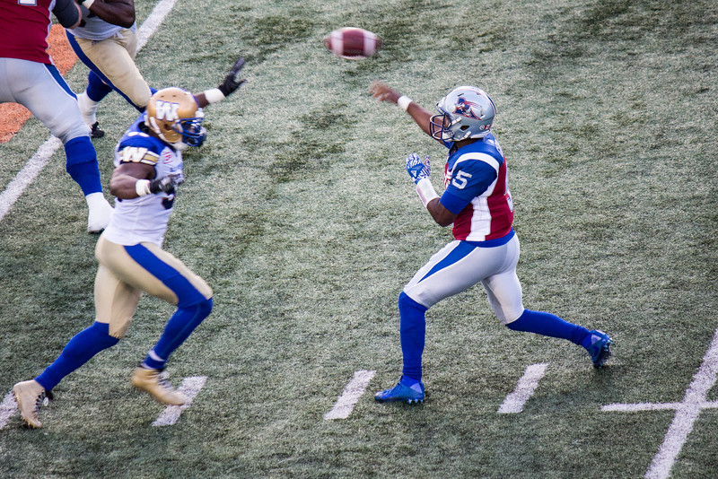 Alouettes vs Blue Bombers 26-08-16