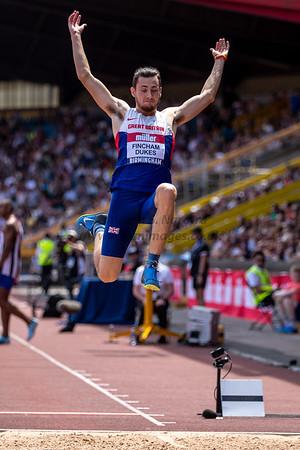 British Athletics Championship 2018, Day 2