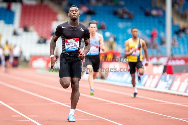 18th August 2018, IAAF Diamond League, Birmingham, Alexander Stadium