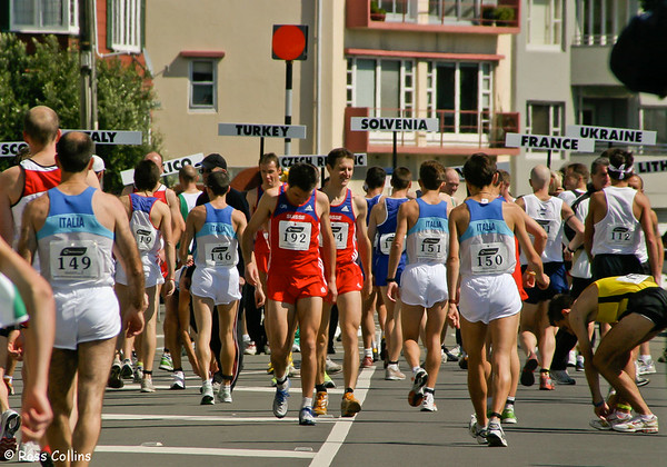World Mountain Running Trophy 2005, Mt Victoria, Wellington, 25 September 2005