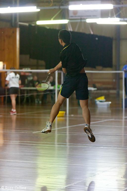 NZ U19 Badminton Championships, Badminton Hall, Wellington, 12 October 2012