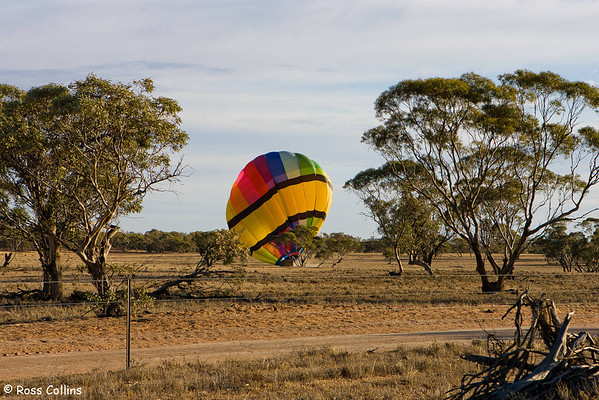 Hot Air Ballooning over Mildura, New South Wales, October 2006